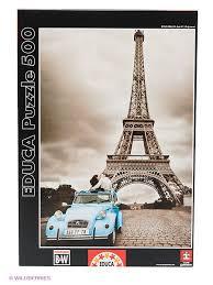 "<b>Пазл</b> ""Эйфелева башня, Париж"", 500 деталей <b>Educa</b> 1908980 в ..."