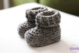 Crochet Baby Booties Pattern 3 6 Months Inspiration The Parker Crochet Baby Booties Sewrella