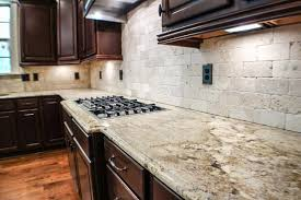 Dark Granite Kitchen Countertops Kitchen Incredible Kitchen Design With Cream Granite Kitchen