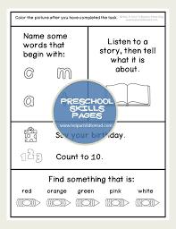 Preschool Skills Worksheets | Retelling, Parents and Worksheets