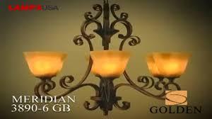 golden lighting meridian collection