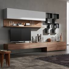 Furniture Accessories:Modern Media Console Designs For Your Inspirations  Home Furniture Unique Wooden Media Console