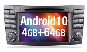 Find great deals on ebay for mercedes audio 10 cd. Autoradio Android 10 Mercedes E Klasse W211 Real De