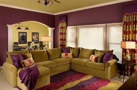 Olive Green Living Room Purple And Green Living Room Matakichicom Best Home Design Gallery