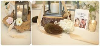 diy centerpiece rustic wedding candle lantern wood