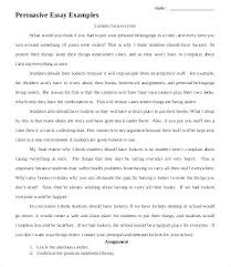 Example Of Argumentative Essay Topics Examples Of An Example Essay