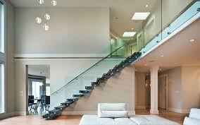 custom interior exterior railing glass picture gallery