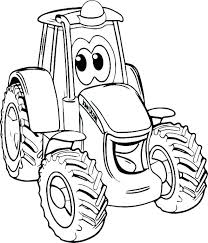 Free Tractor Coloring Pages John Coloring Pages Free Tractor Tom