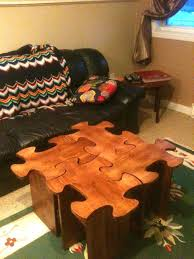 puzzle table diy coffee plans ikea free puzzle table