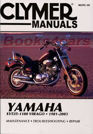 clymer manual shop manual virago service repair yamaha clymer book haynes chilton