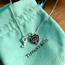 return to tiffany love heart tag key pendant women s fashion tiffany co
