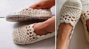Crochet Free Patterns Amazing Lacy Crochet Slippers Free Pattern