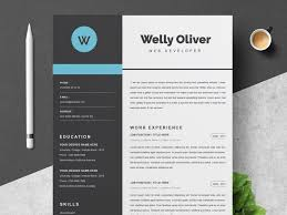 How To Create A Modern Resume In Word Word Cv Template Resume Template By Resume Templates On
