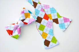Dog Bow Tie Pattern