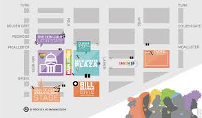 San Francisco Free Medical Chart Celebration Info Map