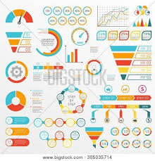 Free Gauge Chart Infographics Set Vector Photo Free Trial Bigstock