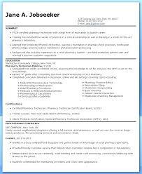 Med Tech Resume Sample Pharmacy Tech Resume Med Tech Resume Pharmacy