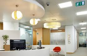 lighting in an office. LED Office Lighting At GE\u0027s Headquarters In Madrid 1 - Feature An I