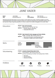 Resume How You Write Resume Sample For Students To Writing