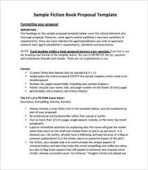 Ideas Of Book Proposal Sample Fiction Book Proposal Example Book ...