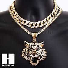 image is loading hip hop iced out premium drake tiger miami