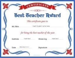 best teacher award template pin by alizbath adam on certificates teacher awards award