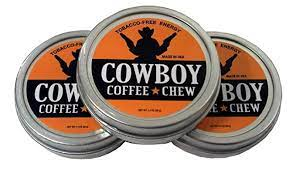 Enjoying the cowboy coffee by the campfire is really enjoyable. Amazon Com Cowboy Coffee Chew Pack Of 3 Quit Chewing Tin Can Non Tobacco Nicotine Smokeless Alternative To Dip Snuff Snus Leaf Grocery Gourmet Food
