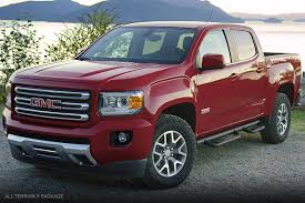 2018 gmc red quartz tintcoat. fine red image of the 2017 gmc canyon all terrain x parked in front a lake near for 2018 gmc red quartz tintcoat