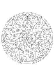 Mandala Kleurplaat Volwassenen Uil Paul Behang