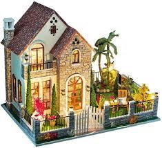 <b>DIY Miniature Dollhouse DIY Wooden Dolls House</b> Handcraft ...
