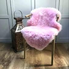 pink sheep skin rug pink sheepskin rug luxury pink sheepskin rugs pale pink sheepskin rug
