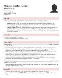 Ejemplo De Curriculum Vitae En Word Modelo De Curriculum Vitae Profesional Pdf Sample Refference Letters