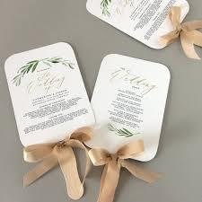 Wedding Programs Template Free Template Fan Wedding Program Template Programs Instant