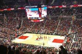 Moda Center Trail Blazers Seating Chart Portland Trail Blazers Vs Atlanta Hawks View From The Moda