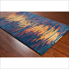 orange and turquoise outdoor rugs