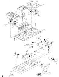 dacor cooktop parts model sgm sears partsdirect find part by diagram >