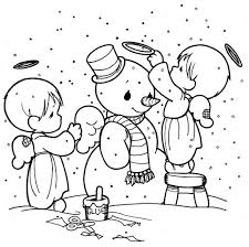 Small Picture Precious Moments Simple Precious Moments Nativity Coloring Pages