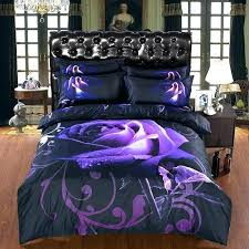 purple bedding sets king design own personal touch image of dark bed linen per