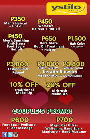 ystilo salon s couple s treat this love month