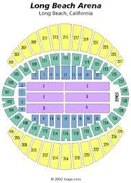 Long Beach Arena Seating Chart 51 Veritable Long Beach Arena Seating
