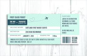 Boarding Pass 1 Invitation Card Kenseeco