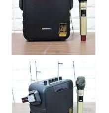 Loa kéo di động Temeisheng SL 05-26, 1 Micro UHF, Cs lớn, Bass Trelb mềm  mại, âm thanh sâu lắng, karaoke hay - Bh 12 tháng, Tặng kèm 2 chống lăn cao  cấp