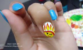 Ima's nail art: Sun Nail Art