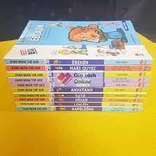 Trọn bộ 10 tập truyện tranh Danh nhân thế giới - Giá Sách Online.com