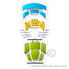 Dr Phillips Center Hamilton Seating Chart Dr Phillips Center Walt Disney Theater Seating Chart