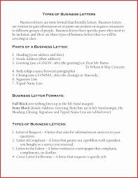 Resumes Formats Luxury Cover Letter Types Choice Image Cover Letter