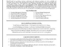 Resume En Resume Culinary Arts Resume 3 3 1600 1200 Image Resume