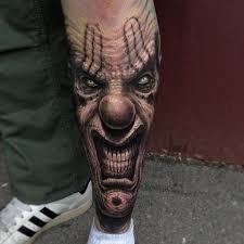 Joker Tetování Klaun