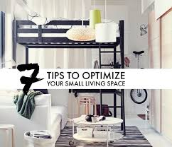 7 tips for optimizing organizing a small living space