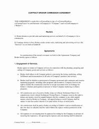 Commission agreement form commision agreement. Co Broker Commission Agreement Beautiful Mission Split Agreement Template Beautiful 21 Free Buyers Models Form Ideas